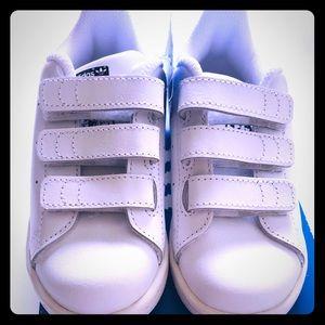 BNWB Adidas Stan Smith white 8.5 kids